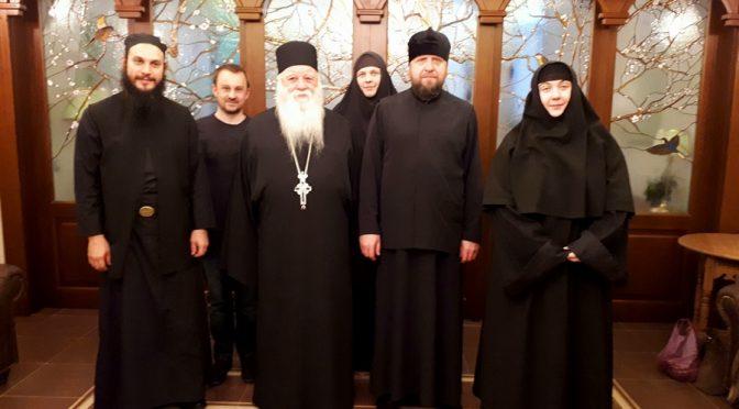 В Беларусь прибыла делегация со Святой Горы Афон