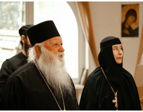 Наместник Афонского монастыря Ксенофонт архимандрит Алексий (Мадзирис) с братьями посетили Свято-Елисаветинский монастырь