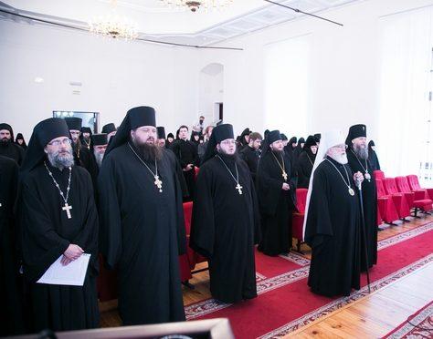 В Успенском Жировичском монастыре состоялась монашеская конференция «Преподобный Феодор Студит – игумен общежительного монастыря»